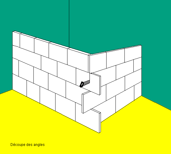 monter un mur ou une closison. Black Bedroom Furniture Sets. Home Design Ideas