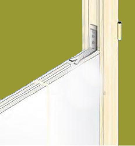 Fenetre interieure dans cloison carreau platre finition for Fenetre interieure