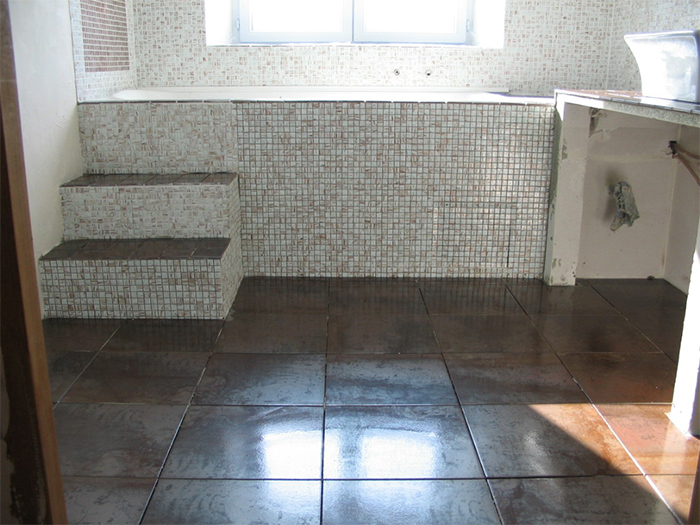 Travaux salle de bain for Pose de joint de carrelage